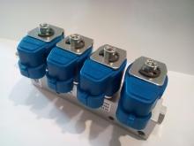 Рампа инжекторная HD 4 цил.(2 Ом)c жиклерами