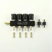 Рампа инжекторная POLETRON 4цил. F-3,6 1Ом (с жиклерами)
