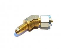 Фитинг для термопластика d8 с резьбой М10 135*