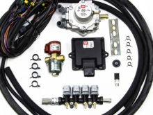 Комплект мини BRC Alba 4цил. 100 - 120 кВт (без фильтра, без жиклеров)