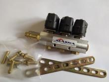 Рампа инжекторная ALASKA J NEW 2 Ом 3 цилиндра
