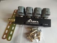 Рампа инжекторная ALASKA J Standart 2 Ом 4 цил. (серая)